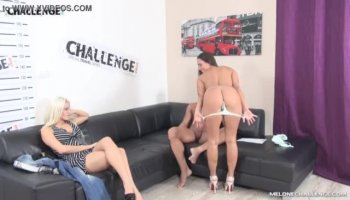 Misha's face gets drenched in cum